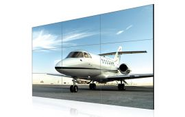 "Narrow bezel video wall  - 47"" Super narrow bezel 4.9mm LCD Video Wall"