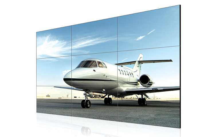 "Narrow bezel video wall  - 46"" Super narrow bezel 5.3mm LCD Video Wall"